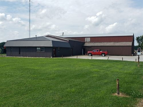 Commercial Office & Storage : Robinson : Crawford County : Illinois