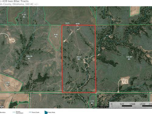 80 Acres M/L, Woods County : Alva : Woods County : Oklahoma