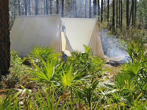 Camping Hideaway Investment $99 Dn : Bunnell : Flagler County : Florida