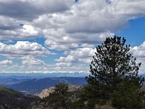 Backs Up To Government Land : Cripple Creek : Teller County : Colorado