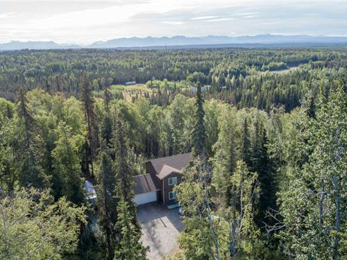 Kenai Mountain View Home : Sterling : Kenai Peninsula Borough : Alaska