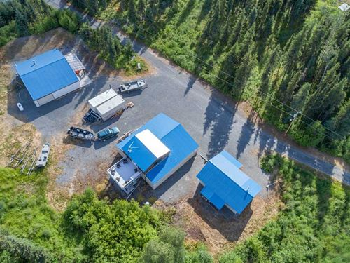 3 Cabins With Kenai River Access : Soldotna : Kenai Peninsula Borough : Alaska