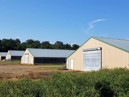 40 Acre Poultry Farm : Altus : Johnson County : Arkansas