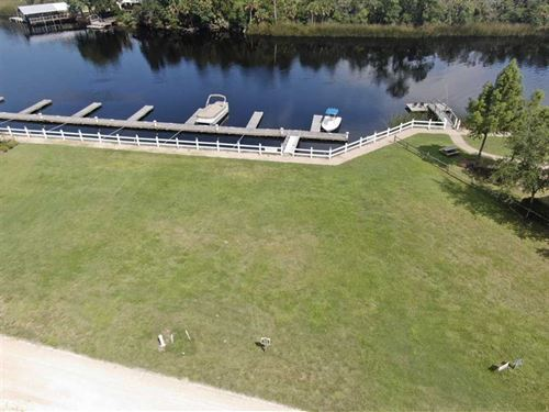 Waterfront Lot With Gulf Access : Steinhatchee : Taylor County : Florida