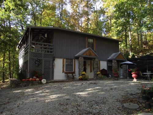 Cabin For Sale With Acres : Waynesboro : Wayne County : Tennessee