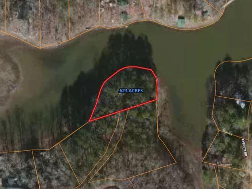 Lake Dorene Lot With Boathouse : Rockmart : Polk County : Georgia