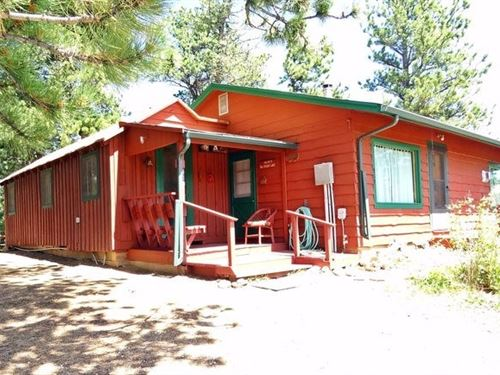 Year Round Mountain Cabin : Red Feather Lakes : Larimer County : Colorado