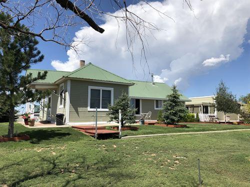 Matheson Country Home And 80 : Matheson : Elbert County : Colorado