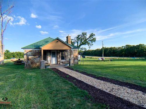 121 Acres With Stone Cabin, Hayabl : Chadwick : Christian County : Missouri