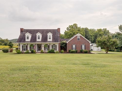 Custom Built Home Acreage Columbia : Columbia : Maury County : Tennessee