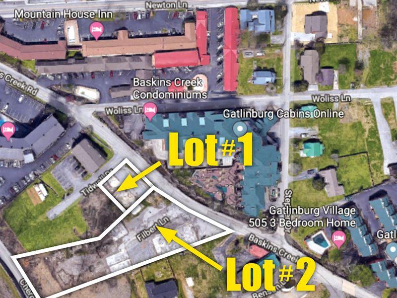 Downtown Gatlinburg Vacant Lots : Gatlinburg : Sevier County : Tennessee