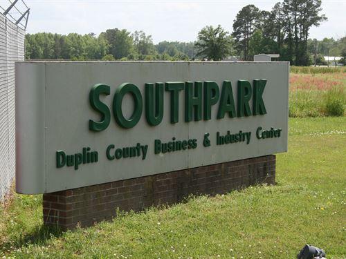 South Park : Wallace : Duplin County : North Carolina