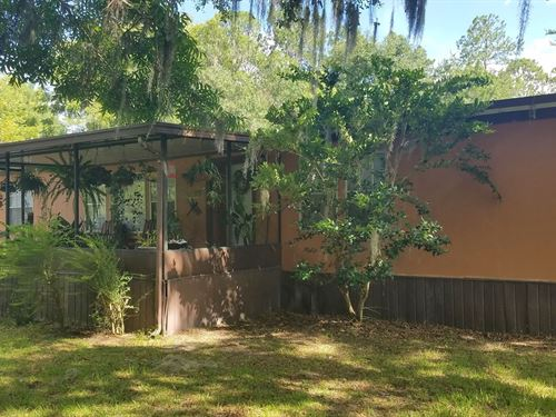 Doublewide on Beautiful 1 Acre Lot : Lake Butler : Union County : Florida