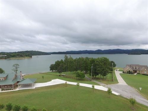 Cherokee Lakefront House, Bean : Bean Station : Grainger County : Tennessee