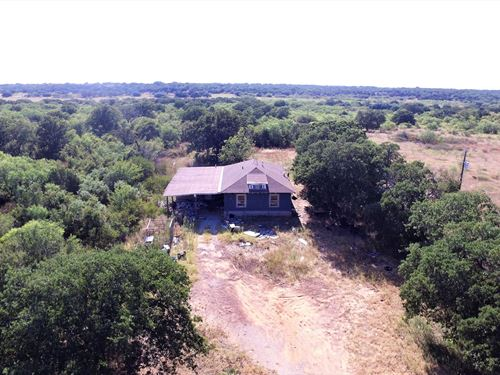 Home On 10 Acres In Bangs Texas : Bangs : Brown County : Texas