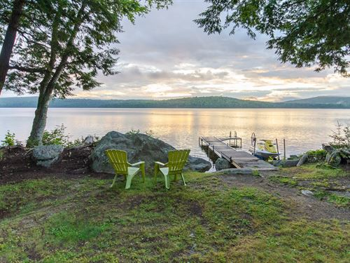 Maine Lakeside Retreat Property : Enfield : Penobscot County : Maine