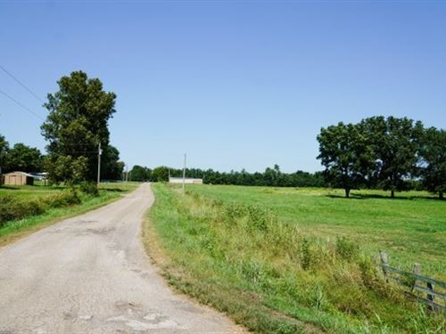 16-Acre Ranchette, Home Site : Keota : Le Flore County : Oklahoma