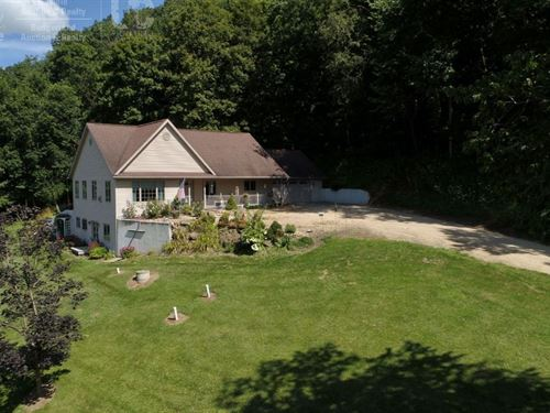 Peaceful Country Home Hunting Land : Richland Center : Richland County : Wisconsin