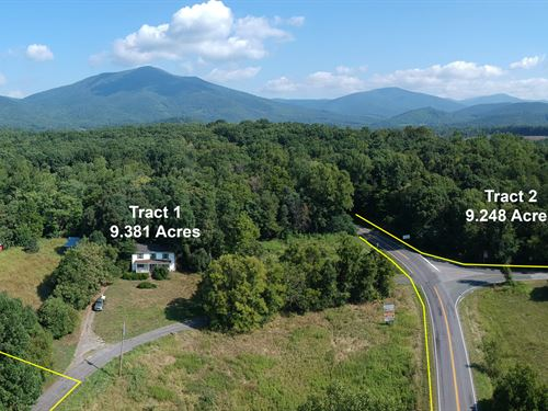 18.6 Acres Near The Peaks Of Otter : Bedford : Virginia