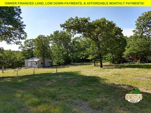 Build Your Country Dream Home Here : Cabool : Texas County : Missouri