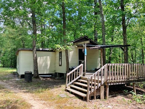 Ozark Mountain Acreage Cabins : Williford : Sharp County : Arkansas