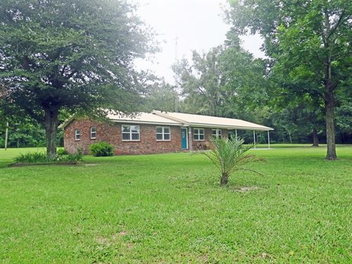 Lovely Brick Home For Sale : Lake City : Columbia County : Florida