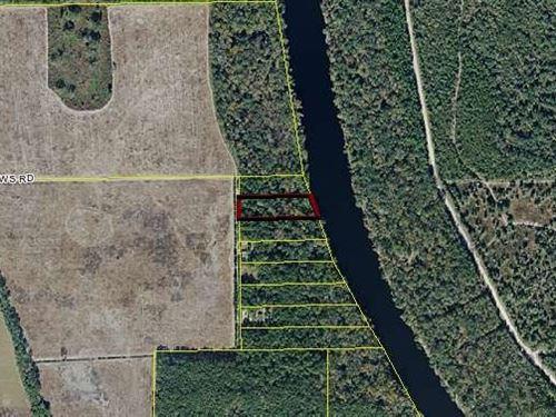 2 Acre River Lot Property Suwannee : Mayo : Lafayette County : Florida