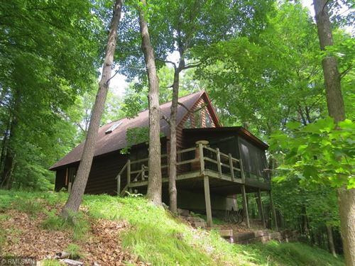 Home Wooded Acreage Pine Lake : Finlayson : Aitkin County : Minnesota