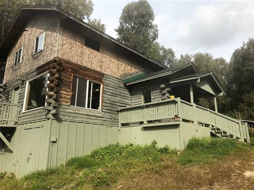 10 Acres Secluded Cabin, Alaskan : Willow : Matanuska-Susitna Borough : Alaska