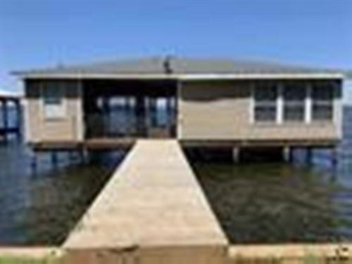 Custom Built Boathouse Eagle's : Bullard : Cherokee County : Texas