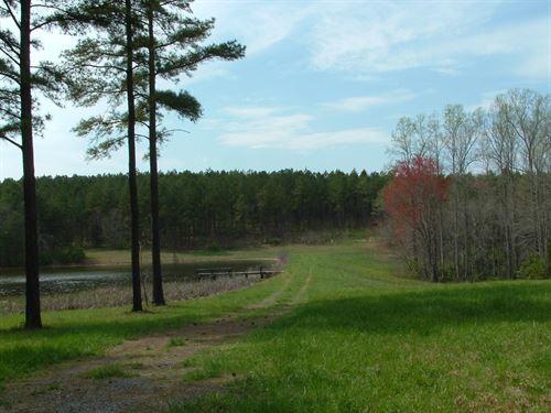 Beautiful Acreage With Nice Lake : Mooresboro : Cleveland County : North Carolina
