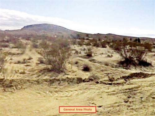 2.78 Acre Lot Ne Of California City : California City : Kern County : California