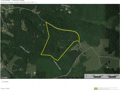 52.50 Acres &Ldquo : Easley : Pickens County : South Carolina