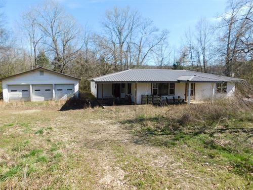Fixer Upper House Tn, Creek, Garage : Michie : McNairy County : Tennessee