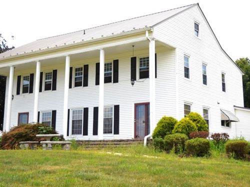 Historical Colonial Home 3+ Acres : Ivanhoe : Wythe County : Virginia