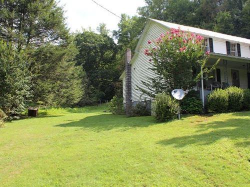 Country Home 28.25 Acres, Patrick : Stuart : Patrick County : Virginia