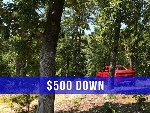 $500 Down On 13 Gated Acres : Camdenton : Camden County : Missouri