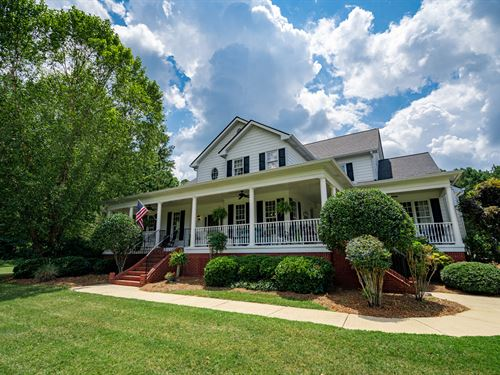 Breathtaking Home On 4.71 Acres : Covington : Newton County : Georgia