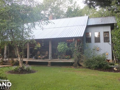 Dog Trot Style Cabin : Winona : Carroll County : Mississippi