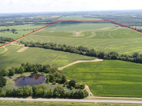 300 Acres Bottom & Terraced, Tiled : Laclede : Linn County : Missouri