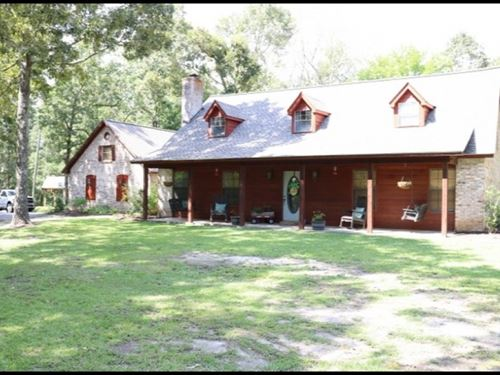 6.4 Acres With A Home In Newton Cou : Decatur : Newton County : Mississippi