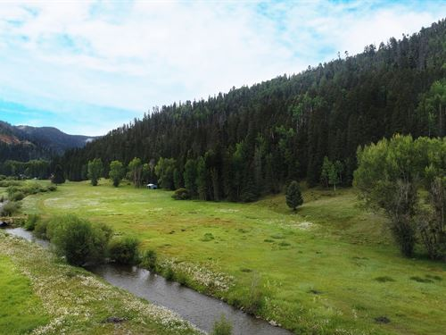 Prime Commercial Land Adjacent to : Red River : Taos County : New Mexico