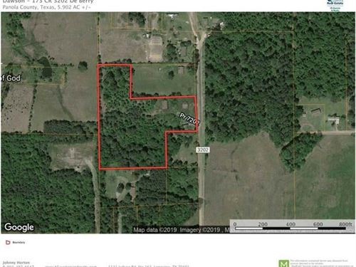 Investment Property Deberry, Land : Deberry : Panola County : Texas