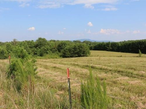 Land For Sale in Pilot Mountain NC : Pilot Mountain : Surry County : North Carolina