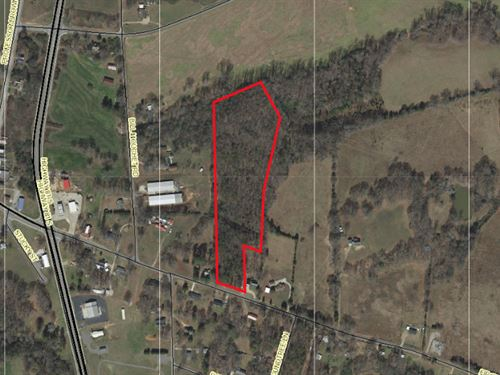 Wooded Acreage Near Starr : Starr : Anderson County : South Carolina