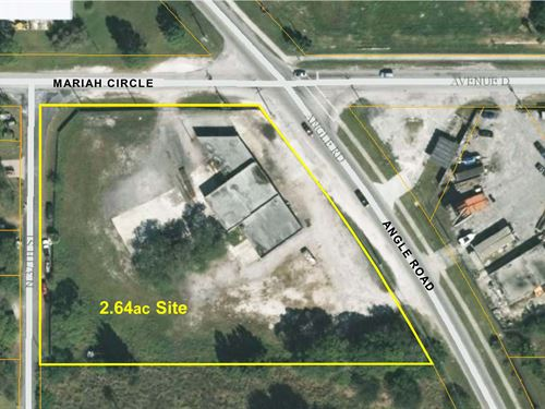 Industrial Building On 2.64Ac Site : Fort Pierce : Saint Lucie County : Florida