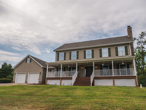 Breathtaking Country Home Riner VA : Pilot : Montgomery County : Virginia