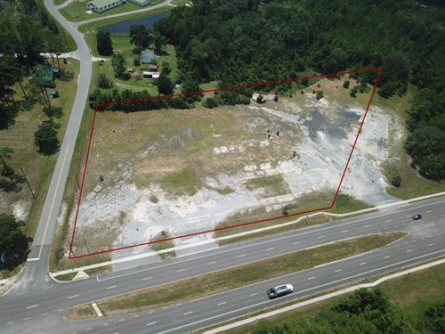 3.87 Acres Commercial, Hilliard : Hilliard : Nassau County : Florida