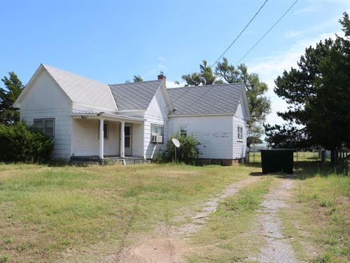 Coldwater, Kansas 'Historic Home : Coldwater : Comanche County : Kansas
