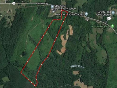 60 Acres Of Hunting In Southern VA : Nathalie : Halifax County : Virginia
